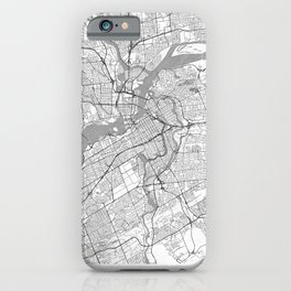 Ottawa Map Line iPhone Case