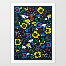 Blooming Wild Art Print