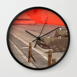 SquaRed: ArmouReady Wall Clock