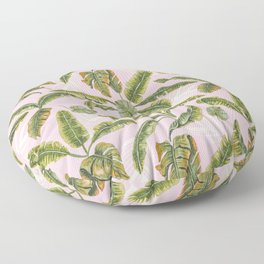 Banana leaf party Floor Pillow