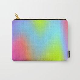 Rainbow gradient foil effect Carry-All Pouch