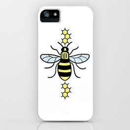 Manchester Bee for Charity iPhone Case