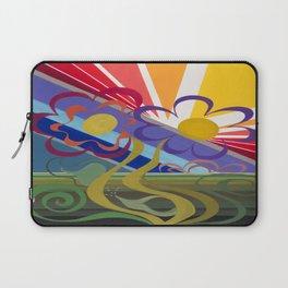 Flower Horizon Laptop Sleeve