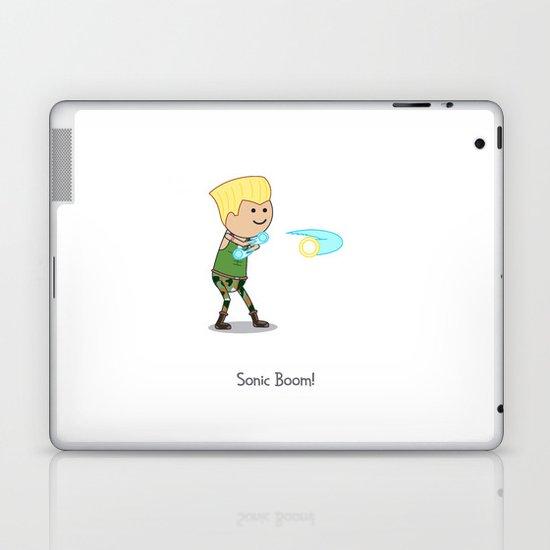 Sonic Boom! Laptop & iPad Skin