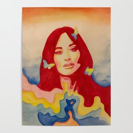 You Give Me Butterflies Spacey Kacey Poster