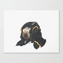 #2: No, no, no! I have too much of a headache! Canvas Print
