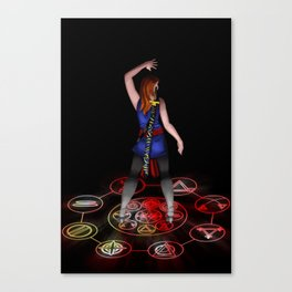 The Sorceress Canvas Print