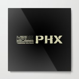 Black Flag: PHX (Phoenix) Metal Print