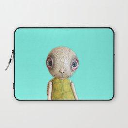 Sheldon The Turtle - Teal Blue Laptop Sleeve