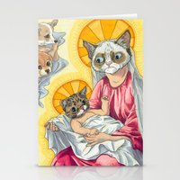 christ Stationery Cards featuring Internet Christ  by Quigley Down Under