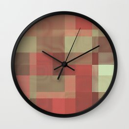 Patchwork for the Pixel Age Wall Clock