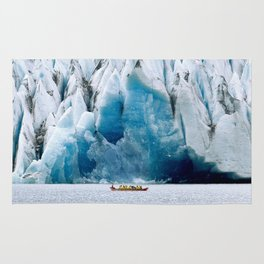 Ride to the Alaskan Glacier Rug