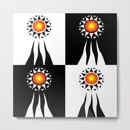 Sun's Ray Combo Metal Print