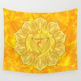 Solar Plexus Chakra  Wall Tapestry