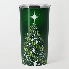 Star Spangled Christmas Tree Travel Mug