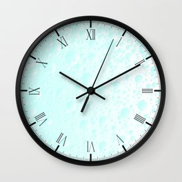 Carbonated Water Wall Clock