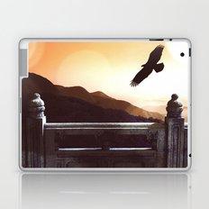 Dark Wings, Dark Words Laptop & iPad Skin