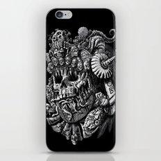 Mictlantecuhtli iPhone & iPod Skin