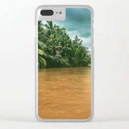 Mekong rain Clear iPhone Case