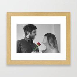 A Couple In Love Framed Art Print