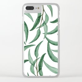 botanic III Clear iPhone Case