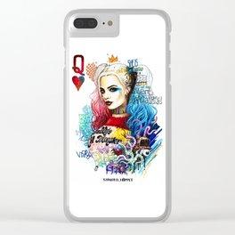 Harley Quinn Clear iPhone Case
