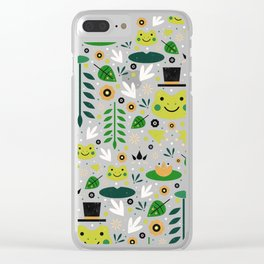 Frog Pond Clear iPhone Case