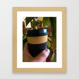Takeaway Coffee Framed Art Print