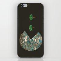 pacman iPhone & iPod Skins featuring Pacman by gunberk