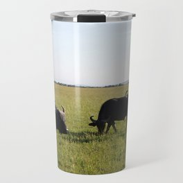 African Buffaloes Travel Mug