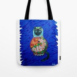Matryoshka Cat Tote Bag