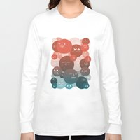 blood Long Sleeve T-shirts featuring Blood Cells by Chase Kunz