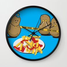 The Horror! Wall Clock