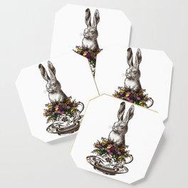 Rabbit in a Teacup Coaster