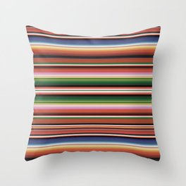 Southwest Serape Throw Pillow
