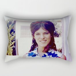 New Hairdo Rectangular Pillow