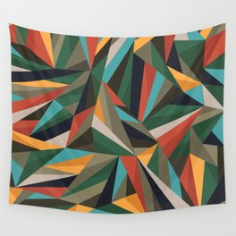 Sliced Fragments II Wall Tapestry