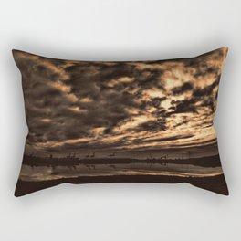 The Docks Rectangular Pillow