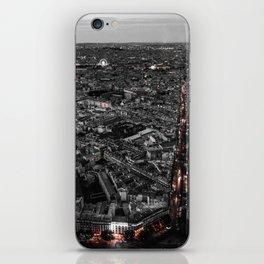 Paris City Lights iPhone Skin