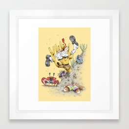 Real Life SpongeBob Framed Art Print