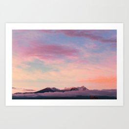 Mexican sunset #society6 #decor #buyart Art Print