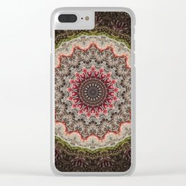 Trichome Crystal Portal Clear iPhone Case
