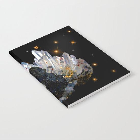 Star Aura Quartz Notebook