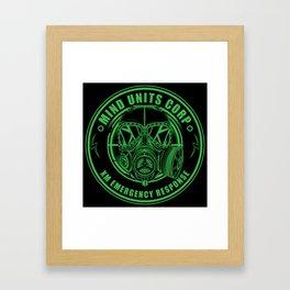 Mind Units Corp - XM Emergency Response Enlightened Edition Framed Art Print