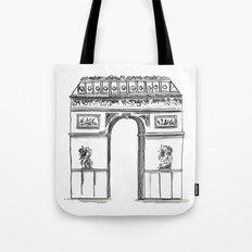 Arc De Triomphe Sketch no. 2 Tote Bag