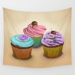 Cupcakes!  Wall Tapestry
