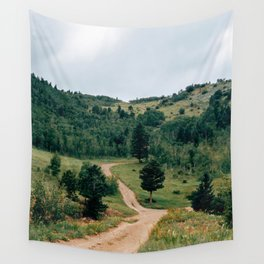 Switzerland Trail 4x4 Wall Tapestry