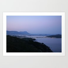 Evening Harbor 4423 Art Print
