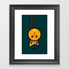Hanged Framed Art Print