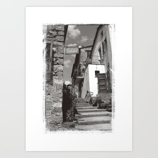 Pienze Art Print